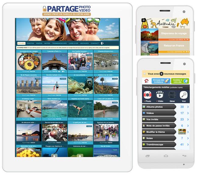 Comment ça marche ? Découvrez notre plateforme et ses nombreuses fonctionnalités pour partager photos et vidéos en privé