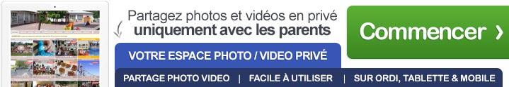 Vous souhaitez partager des photos et des vidéos en toute sécurité avec les familles ? Créez votre blog privé en 2 minutes seulement et essayez notre service révolutionnaire !