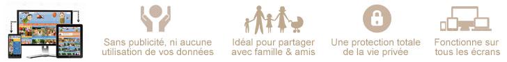 Foire aux questions : partage photo et vidéo sécurisé pour la famille et entre amis